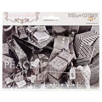 Teresa Collins Tinsel & Company Photo Overlays 10/Pkg