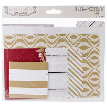 Teresa Collins Tinsel & Company Cardstock File Folders & Cards