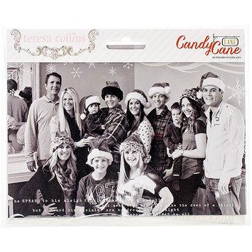 Teresa Collins Candy Cane Lane Photo Overlays 10/Pkg