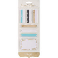 Teresa Collins Studio Gold Journaling Labels 70/Pkg