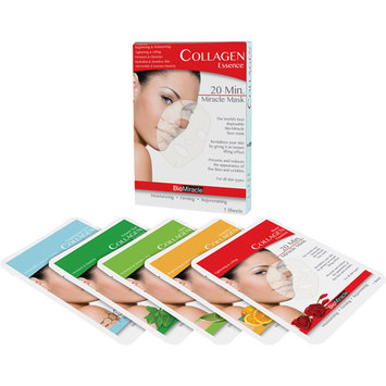 Quest Products Bio-Miracle Anti-Aging & Moisturizing Face Mask Sheets - Assorted (5