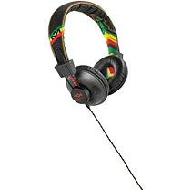 Marley Positive Vibration On-Ear Headphones (Rasta)