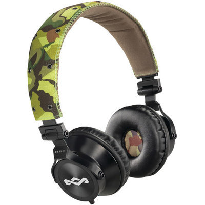 House Of Marley - Headphones House of Marley Revolutiona ¢ On-Ear Headphones (3-Button Remote w/Mic)