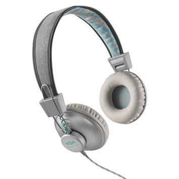 The House of Marley Positive Vibration Headphones Inc 3 Button In-Line Remote and Mic - Mist