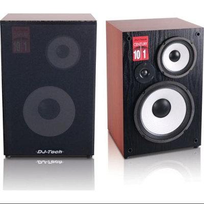 Dj Tech CENTURY101 3-way Loudspeaker W/detachable Grille & 10-in Woofer [single]