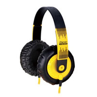 IDANCE SEDJ600 Thick Padded Headphones - Yellow - Black