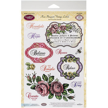 JustRite Papercraft Clear Stamp Set 6