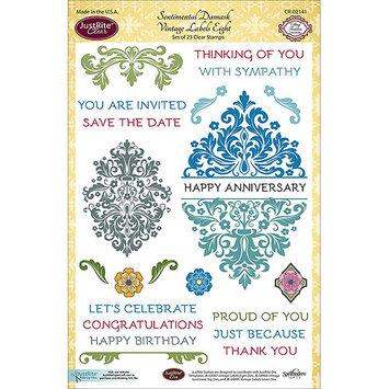 JustRite Papercraft Clear Stamp Set 6
