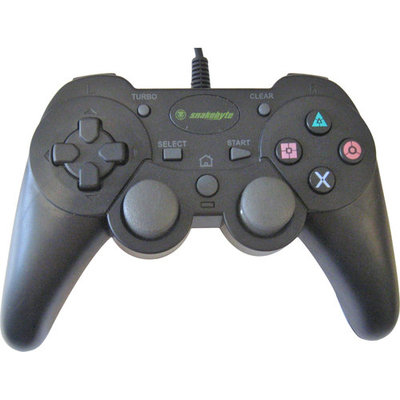 Snakebyte SB00566 Wired Controller for PlayStation 3 - Black