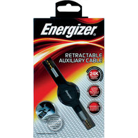 Eveready Premier Accessory Group Retractable Auxiliary Cable