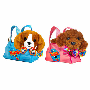 Cepia Happy's Fashion Pet Carrier and Scarf - Blue