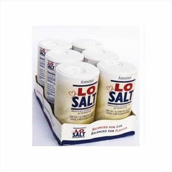 Losalt Reduced Sodium Salt 12.35 Oz Pack of 6