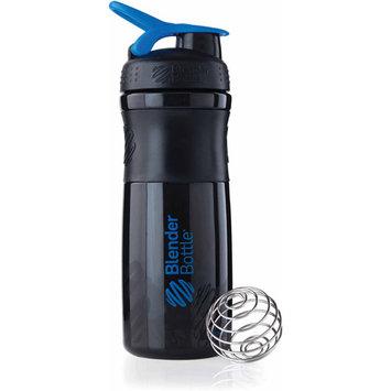 Blender Bottle Sports Mixer Bottle Black/Blue 28 Ounce 28 ounce