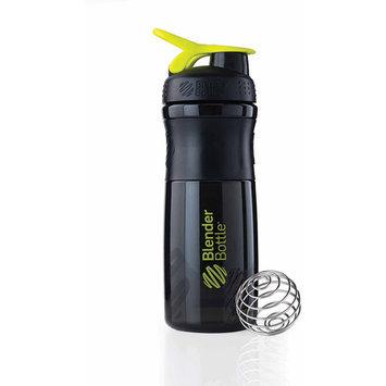 Blender Bottle - SportMixer Tritan Grip Black/Green - 28 oz. By Sundesa
