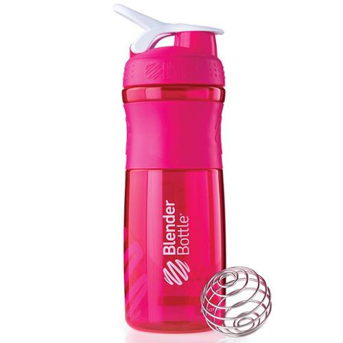 Blender Bottle SportMixer 28 oz. Tritan Grip Shaker - Pink/White