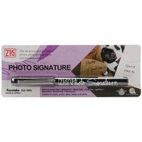 Zig Photo Signature Marker (Packaged)-Black