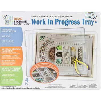 Darice Inc Darice EWC0512 Elizabeth Wards Work In Progress Tray 13.75 in. x 10.5 in. x 2 in