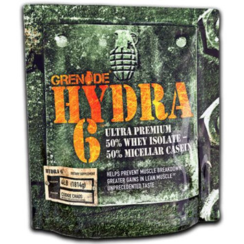 Grenade 4 lb. Hydra 6 Ultra Premium Protein Blend - Cookie Chaos
