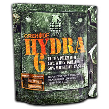 Grenade 4 lb. Hydra 6 Ultra Premium Protein Blend - Chocolate Charge