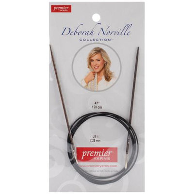 Premier Yarns DNN85-2 Deborah Norville Fixed Circular Needles 47 in. -Size .50.25mm