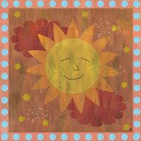 Green Leaf Art Happy Sun/Happy Moon Canvas Wall Art