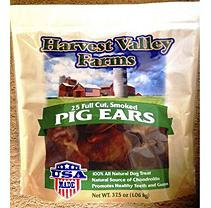 Harvest Valley Farms Smoked Pig Ears (25 ct.)