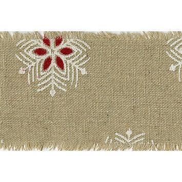 May Arts 468-25-14 Vintage Inspired Ribbon 2-1/2X20yd-Snowflakes