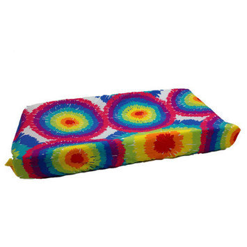 One Grace Place - Terrific Tie Dye Changing Pad Cover