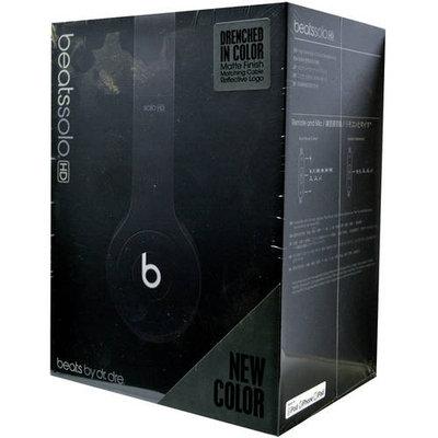 Beats Solo HD On Ear Monochromatic Headphone with ControlTalk (Black)