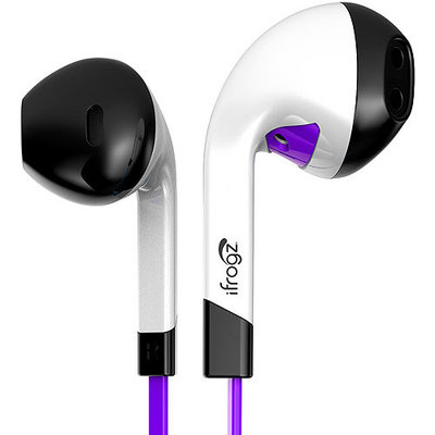 Ifrogz IF-ITN-PRP Audio Intone With Mic Accs Purple