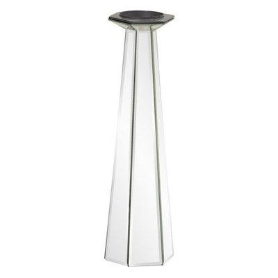 Howard Elliott Tapered Mirrored Candle Holder - 11124