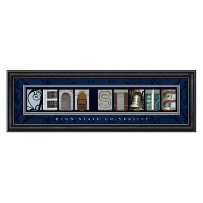 Sharper Image College Letter Framed Wall Art