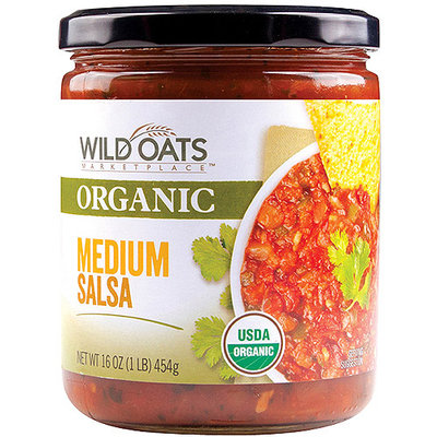 Wild Oats Marketplace Organic Medium Salsa, 16 oz