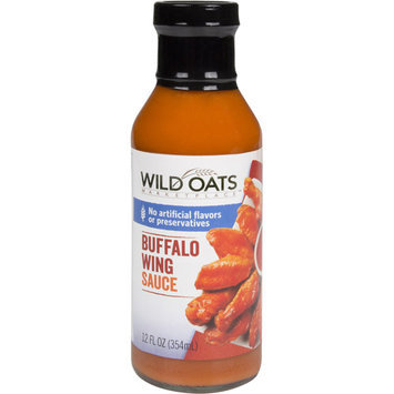Wild Oats Marketplace Buffalo Wing Sauce, 12 fl oz