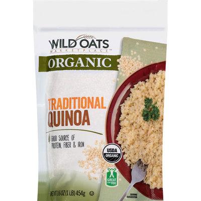 Wild Oats Marketplace Organic Traditional Quinoa, 16 oz