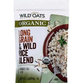 Wild Oats Marketplace Organic Long Grain & Wild Rice Blend, 16 oz