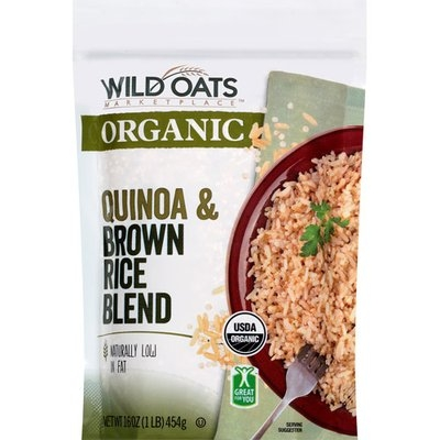 Wild Oats Marketplace Organic Quinoa & Brown Rice Blend, 16 oz