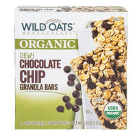 Wild Oats Marketplace Organic Chewy Chocolate Chip Granola Bars, 0.85 oz, 8 count