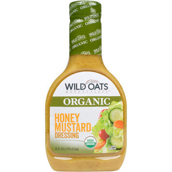 Wild Oats Marketplace Organic Honey Mustard Dressing, 16 fl oz