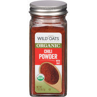 Wild Oats Marketplace Organic Chili Powder with Salt, 2 oz