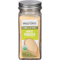 Wild Oats Marketplace Organic Garlic Powder, 2.5 oz