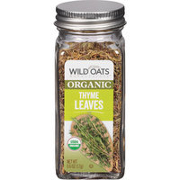 Wild Oats Marketplace Organic Thyme Leaves, 0.6 oz