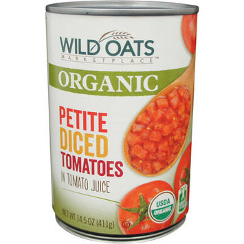 Wild Oats Marketplace Organic Petite Diced Tomatoes in Tomato Juice, 14.5 oz