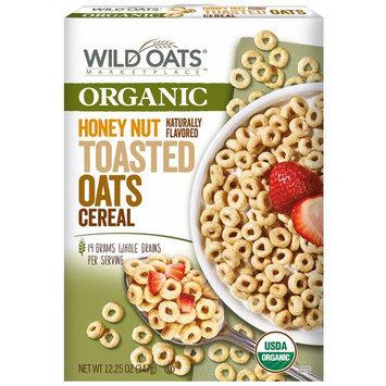 Wild Oats Marketplace Organic Honey Nut Toasted Oats Cereal, 12.25 oz