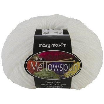 Mary Maxim NOTM065157 - Ultra Mellowspun White Yarn