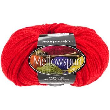 Mary Maxim Ultra Mellowspun Yarn-Red