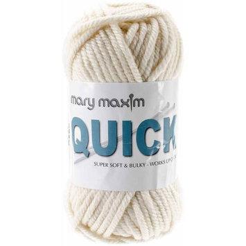 Mary Maxim Quick Yarn-Ivory