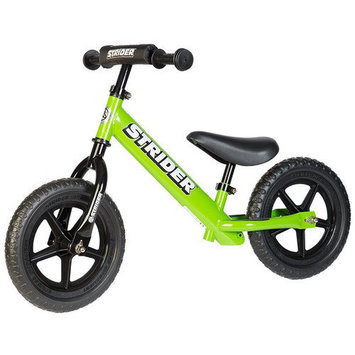 Strider Sports Strider 12 Sport No-Pedal Balance Bike - Green