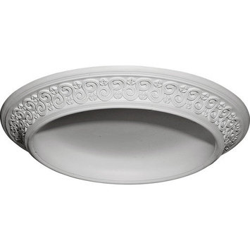 Ekena Moulding: 34-1/2 in. Bedford Surface Mount Ceiling Dome DOME34BE