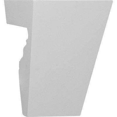 Ekena Millwork 5.76-in Primed Polyurethane Keystone Accent KEY05X06X04TR